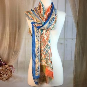 Saachi Silk Scarf